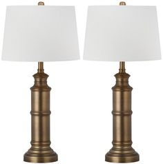 """Mariner 30.5"""" H Table Lamp with Empire Shade"""