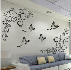 Classical vie Parlor wall ZooYoo051S adesivo de parede removable pvc wall sticker