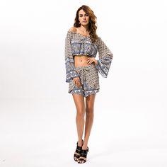Aaricia Play Suit 2 Pieceswholesale at fashion@dhernary.com #boho #bohemia #bohemian #bohemianstyle #bohostyle #bohochic #gypsy #gypsystyle #fashion #clothing #wholesale #womens #women  #girl #lady #beach #chic #sea #africa #plussize #supplier #dress #skirt #tunic