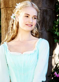 """I think 'Have courage, be kind and all will be well,' there's a sort of grounding to it and a reality to it as well. I found playing her quite inspiring, and the fact that if you can live like that, actually you can find joy just from within."" ~ Lily James as ""Cinderella"""