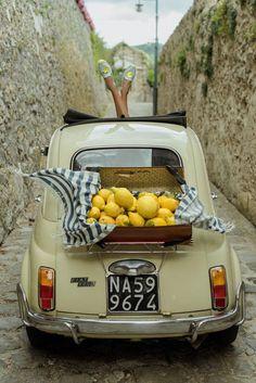 The wonders of Italy will seduce you for sure! Fiat 500, European Summer, Italian Summer, Summer Aesthetic, Travel Aesthetic, Italian Lifestyle, Vintage Italy, Northern Italy, Amalfi