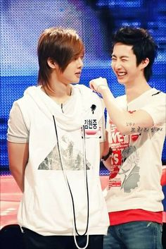 Both HJ's... #SS501 #Triples  #Bogosipo  #SS501 @mystyle1103  @HyungJun87 @JungMin0403 @official_DSP @b2ment