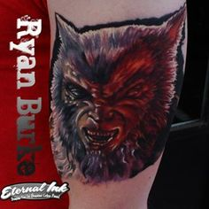 Werewolf from monstersquad that I blocked in last month.  Adding the fat kid this week.  Done with @eternalink