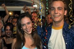 """""""Can't Hardly Wait"""" was a cute movie. Ethan Embry plays Preston who reminds me of Sheldon Cooper a bit. Seth Myers maybe? He's cute. And, wow, Jennifer Love Hewitt was young and pretty then."""