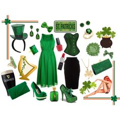 I take that back...this is your St. Patty's day attire!  HOW FUN!!!