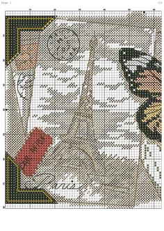 Felt Embroidery, Cross Stitch Embroidery, Embroidery Patterns, Butterfly Stitches, Butterfly Cross Stitch, Cross Stitch Samplers, Cross Stitching, Cross Stitch Designs, Cross Stitch Patterns