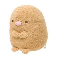 サンエックスネットショップ ❤ liked on Polyvore featuring plushies, fillers, fillers - brown and stuffed animals