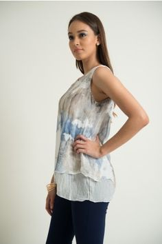 Este verano enamórate del azul con Closé Blusa Xana #moda #verano #Mexico #Closé