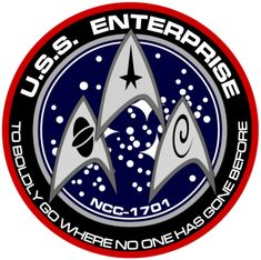 New USS Enterprise Insignia by
