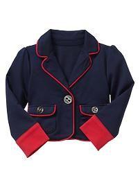 Toddler Girls' Outerwear: babyGap   Gap Love this blazer!!