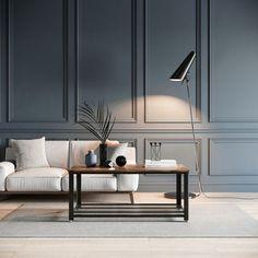 Home Living Room, Interior Design Living Room, Living Room Designs, Living Room Decor, Interior Walls, Modern Classic Interior, Estilo Interior, Home Room Design, Living Room Inspiration