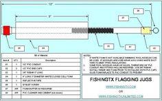 Rainy day project- Jugline build-along D-I-Y Projects Jug Fishing, Fishing Rigs, Fishing Stuff, Bass Fishing, Fishing Boats, Pvc Conduit, Catfish Fishing, Fish Crafts, Pool Noodles