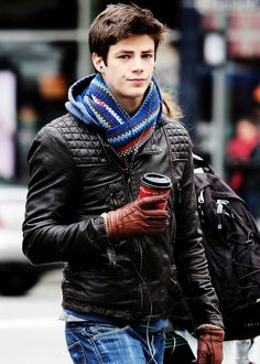 Grant Gustin (wow i'd like a piece of him-the whole LOT)