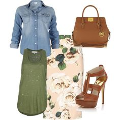 """""""spring**"""" by mandahall on Polyvore"""