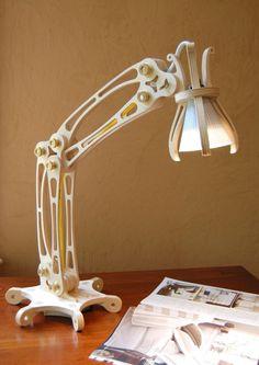 Custom Made Articulating Lamp