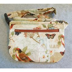 Hip Bag Song Birds and Butterflies ($17) via Polyvore featuring bags, strap bag, waist fanny pack, butterfly bags, hip fanny pack and fanny bag