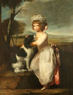 Child with a Dog, 1770-75 by British School