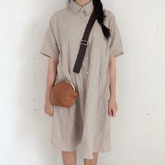 Minimal shirt dress @jacintachiang