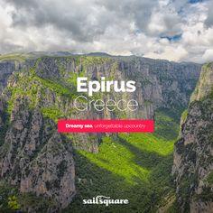 #Epirus #Greece #Sailing  www.sailsquare.com