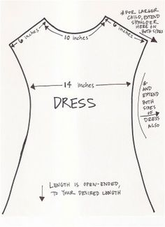 Shirt / Dress pattern