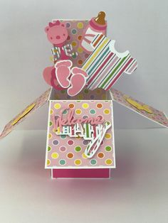 Excited to share the latest addition to my #etsy shop: 3-D, Pop-Up, Baby Shower, Girl, New Arrival, Giftcard Holder, Box Card http://etsy.me/2DTb7HM #babyshower #babyshowercard #3dcard #boxcard #popupcard #welcomebabycard #newbabycard #babygirlcard
