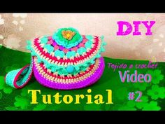 Bolsa en Granny Circular - Tejida a Crochet !! VIDEO #3 - YouTube