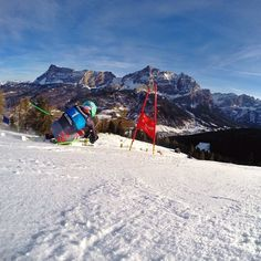 Hard to stay focused on course with this view. #altabadia @GoPro #goprohero3plus @head_ski @shredoptics #Padgram