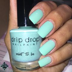 """Indie DripDrop Nail Paint  """"Mint to Be"""""""