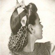 1940s Half Snood Crochet Pattern (Vintage crochet patterns)