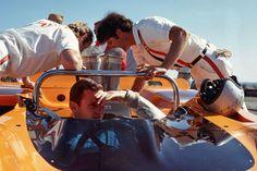 BRUCE MCLAREN #F1 #Formula1 #GrandPrix #GrandPrixF1 #McLaren #CanAm #Indy500 #LeMans #FordMcLaren #Chevrolet #Cooper #Eagle  http://www.snaplap.net/driver/bruce-mclaren/