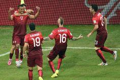Varela évite de justesse l'élimination du Portugal face aux États-Unis (2-2) - lesoir.be