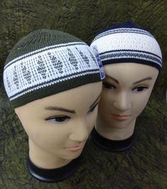 38195169566 2 New Muslim Cotton Koofi Kufi Prayer Cap Stretchy Islamic Prayer Hat Topi
