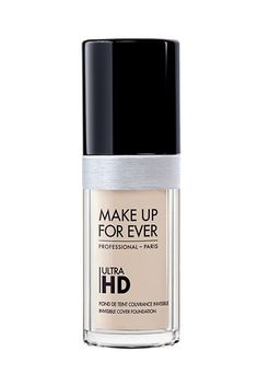 This is one of the two foundations that Jenner loves.Make Up For Ever Ultra HD Foundation, $43, available at Make Up For Ever. #refinery29 http://www.refinery29.com/2015/11/98255/kylie-jenner-makeup-routine-video#slide-3