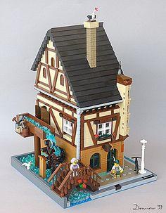 Lego Christmas Village, Lego Winter Village, Lego Village, Pc Minecraft, Lego Army, Lego Boards, All Lego, Lego Modular, Lego Castle
