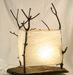 Boslamp (nr 3) by Twisted Wood