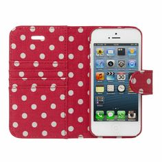 Little Spot iPhone 5 Case with Card Holder