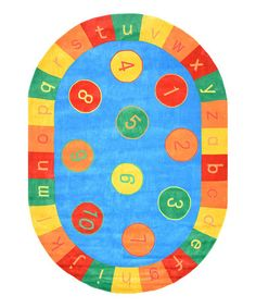 Look what I found on #zulily! Alphabet Rug #zulilyfinds