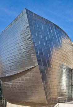 Bilbao Portrait du musée Guggenheim photo brigitte Bordes