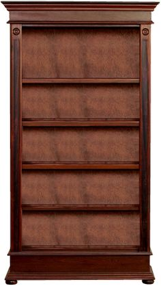 Lampung Open Tall Bookcase | Wetherlys