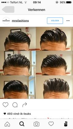 Undercut Hairstyles, Hairstyles Haircuts, Haircuts For Men, Straight Hairstyles, Mens Hairstyles Fade, Classic Mens Hairstyles, Barber Haircuts, Pompadour Hairstyle, Hair And Beard Styles
