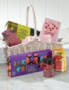 Tea Time Treats Gift Basket | M&S Sweet Hampers, Food Hampers, Gift Hampers,