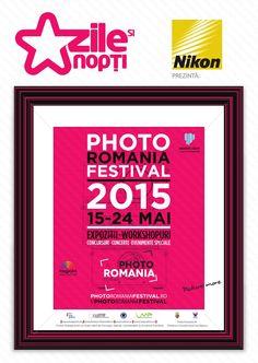 Zile și Nopți de Photo Romania Festival  Sute de fotografi din întreaga lume, zeci de expoziţii, workshop-uri, concursuri şi evenimente speciale vor anima Clujul, între 15 şi 24 mai, la cea de-a cincea ediţie a Photo Romania. Publicul va putea participa, în cadrul festivalului, la peste 50 de expoziţii ale unor fotografi români şi străini, ateliere de specialitate, concursuri, o conferinţă de fotografie pe modelul TEDx, o întâlnire internaţională a managerilor de festivaluri de fotografie…