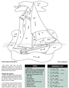 #1015 Schooner Bluenose - Intarsia Patterns - Intarsia Projects, Tips and Techniques