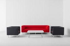 Bern lounge seating.  Design: nienkamper