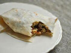 Pioneer Woman's Breakfast Burritos