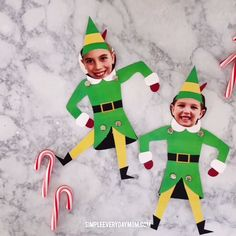Free Printable Elf Photo Puppet - Christmas Activities For Kids - Christmas Craft For Kids Easy Christmas Crafts, Christmas Activities, Homemade Christmas, Christmas Fun, Holiday Fun, Activities For Kids, Christmas Ideas For Kids, School Christmas Party, Office Christmas Decorations