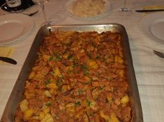 Brassói sütőben sült krumplival Fried Rice, Feta, Food And Drink, Chinese, Ethnic Recipes, Nasi Goreng, Stir Fry Rice, Chinese Language