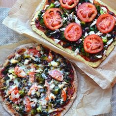 Pizza done paleo, vegan and/or gluten-free
