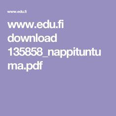 www.edu.fi download 135858_nappituntuma.pdf
