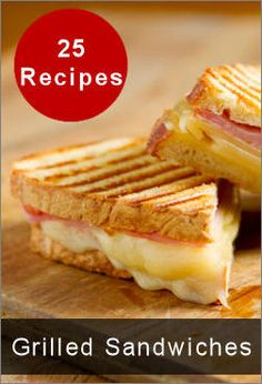 25 Grilled Sandwiches To Satisfy Your Taste Buds 40 of the best veggie recipes. Grill Sandwich, Toast Sandwich, Sandwich Maker Recipes, Grilled Sandwich Recipe, Soup And Sandwich, Panini Recipes, Sandwich Ideas, Veggie Recipes, George Foreman Recipes